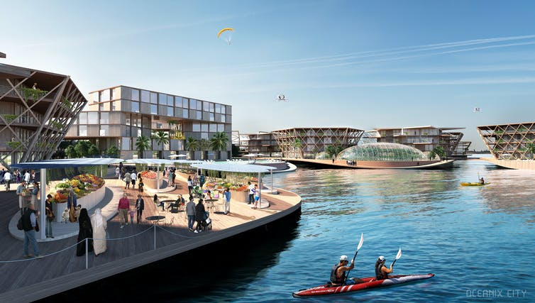 Floating cities: the future, a race against rising sea levels and climate change?